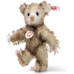 Petsy Mini Teddy Bear, Brown Tipped