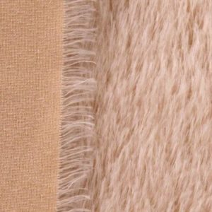 524 Sparse, straight mohair 21mm