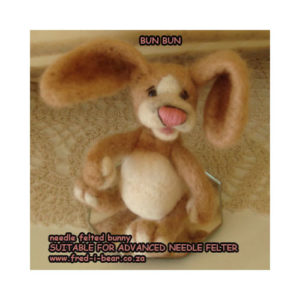 FBBB Bun Bun Needle Felted Kit