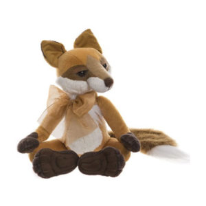 "CB195207 CHARLIE BEARS SLY (FOX) - FROM THE FABLES SERIES  Size: 15"" (38cm)"