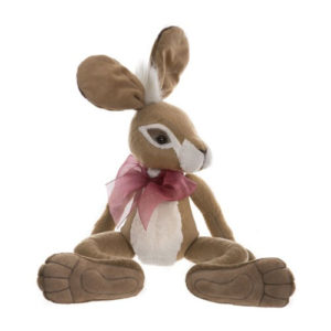 "CB195210 CHARLIE BEARS SPEEDY (HARE) - FROM THE FABLES SERIES  Size: 17"" (43cm) SOLD OUT"