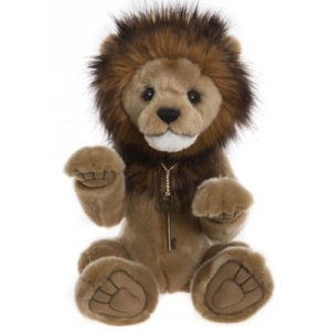 "CB195170  CHARLIE BEARS GOLIATH (LION) - FROM THE QUEEN'S BEASTS SERIES  Size: 16"" (41cm)"