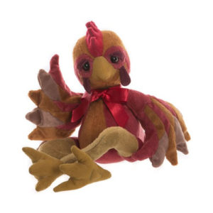 "CB195208 CHARLIE BEARS LIL' RED (HEN) - FROM THE FABLES SERIES  Size: 13"" (33cm)"