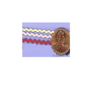 147   Mini Ric Rac – 3mm- Rayon