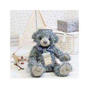 Samuel Silver Tag Bear
