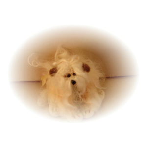 FBB Bijou Needle Felted Dog Kit