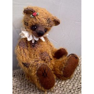 NBOT Old Ted 20cm Mohair Kit