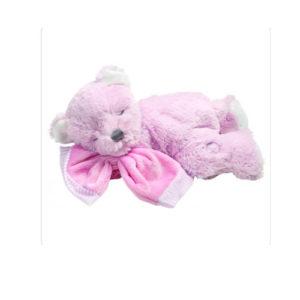10091 Pink Baby Musical Bear