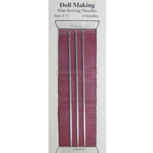 "FBPM Piecemakers 3 1/2 "" Doll Needles"