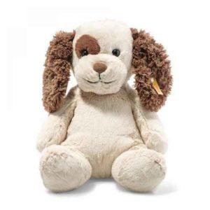 STEIFF 083617 PEPPI, soft dog, cream
