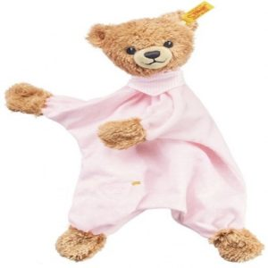 STEIFF 239533 BABY TEDDY BEAR COMFORTER