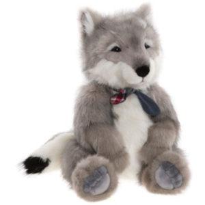 "BB214106 Charlie Bears Bearhouse Timberwolf 18 1/2""/47cm Canadian Wolf"