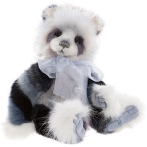 "CB212094B Charlie Bears Isla 17 1/2""/44cm Isla Plumo Panda"