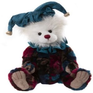 "CB2170280 Charlie Bears Pogo Clown 14""/36cm"