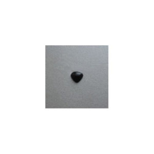 Nose 1 polymer 12mm x 11mm Black and Pink