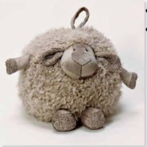 Round Lamb Grey ST8133C 33cm